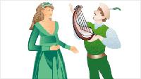 3. 세속(世俗)의 단성음악<BR><BR>11세기말부터 13세기에 걸쳐, 교회안에서 다성음악이 발달해가고 있을 무렵, 교회 밖에서는 중세적 붕건제도의 전성기를 배경으로 「트루바두르(troubadour)」, 「트루베르(trouveres)」, 「미네젱거(minne sänger)」 등의 기사가인(騎士歌人)의 예술이 나타났다. 이것은 세속(世俗)음악의 시작이며 「기도의 노래」인 그레고리오 성가에 대한 역사상 최초의 세속적인 리트(Lied)의 예술이다. 이 세속음악은 대체로 단선율의 것으로, 다성음악이 주류를 이루었던 고딕(Gothic)시대로서는 진기한 일이었다. <BR><BR>11세기 말에서 13세기 말에 걸친 십자군전쟁의 영향으로, 12~13세기에 발달된 세속음악은 처음에 봉건제도의 기사계급이 자기들의 교양으로 한 것이 시초이며, 이어서 시대의 조류를 타고 새로 일어난 시민계급에서 음악이 성하게 되었는데 프랑스와 독일 등지에서 특히 성행하였다. 한편으로는 12세기에 대학이 발생했고 당시 전형적 학생생활은 도시에서 도시로 방랑하며 곳곳의 대학을 다니는, 말하자면 보헤미안적 존재들인 일단의 학생집단이 세속음악에 중요한 영향을 끼쳤다. <BR><BR>이런 세속음악은 먼저 라틴민족들 사이에 일어났다. 8세기경부터 각지를 돌아다니던 음유시인(吟遊詩人)이 점차 확대되었는데, 이들을 프랑스에서는 8세기 경부터 「종글뢰르(jongleur)」, 영국에서는 「민스트렐(minstrel)」이라고 했다. 특히 유명한 것은 프랑스 남쪽 지방의 「투루바두르(troubadour)와 북쪽 지방의 「투르베르(trouveres)로서, 11세기경에 일어나서 12세기경에 가장 성하였다. 그들은 주로 기사(騎士)계급들로서 연애, 정치, 역사 같은 것을 내용으로 작사, 작곡한 속어(俗語)의 기사가곡(騎士歌曲)이 번성하였다. 그리고 그런 가곡들은 대개 서정적이었다. 이들 음악은 그레고리오 성가를 포함해서 원칙적으로는 교회선법(敎會旋法)에 의한 단성부 음악이었으나, 9세기경부터 다성부의 음악도 나타나게 되었다.<BR><BR>이보다 조금 늦게 13세기경에는 화려하게 출정했던 십자군의 기사들이 초라하게 돌아와, 각 지방의 후작의 궁정에 기식(寄食)을 하는 신세가 되면서부터, 또 다시 독일에 새로운 부류의 음악이 생겼다. 예술적으로 교양이 높은 이 기사들은 각기 자기 상전(上典)과 고을의 명예를 걸고 노래자랑을 했는데, 이 사람들을 민네젱거(minne sänger)라 불렀다. 다소 종교적인 색채를 띠기는 했으나, 그들은 열심히 연애 시(詩)를 써서 거기에 곡(曲)을 붙이고 또 그것을 노래했다.<BR><BR>얼마 후 14세기가 되면서 이러한 음악이 시민계급 사이에 확대되어 명가수라는 뜻의 마이스터쟁거(Meistersänger)가 되었는데, 이는 기사도(騎士道)가 쇠퇴하고 서민계급이 일으킨 음악 운동인 것이다. 민네젱거는 쇠퇴하고, 마이스터쟁거가 등장하여서 16세기경까지 계속된다. 십자군의 덕택으로 동서 교역에서 부자가 된 시민들과 상공업자들은 의식주에 불만이 없어짐에 따라서, 다투어 노래 경연대회를 열고 참석하였다. 이 운동으로 음악을 널리 보급하고 일반에게 전파한 역할은 대단히 큰 것이었다.<BR><BR>한편으로 1000년경부터 1400년대까지 중세 전성기에는 파리의 노트르담 성당과 같은 대성당들이 전 유럽에서 지어졌고 대학들도 많이 생겨났다. 성당의 수사(修士)들은 점차 교회 밖으로 여행하기 시작하였으며,또한 학생들 역시 여러 대학을 옮겨 다니며 공부하는 경우도 많아졌는데 이러한 사회적 변화의 요인과 교회음악에 대한 변화의 요구가 어울려 새로운 세속음악이 생겨났다. 이 음악들은 12세기와 13세기 동안 많은 지역을 여행했던 음유시인(吟遊詩人)들에 의해 만들어졌으며, 그들이 노래한 것은 주로 고귀한 귀족여인에 대한 사랑이나 목동의 노래 등이었다. 이와 같은 세속적인 노래가 많이 나오게 된 것은 교황의 권위가 중세 말기로 갈수록 서서히 약화되면서 각각의 성을 지배하던 왕과 귀족들의 권세가 높아진 데서 주된 이유를 찾아볼 수 있다. 그렇기 때문에 14세기 무렵부터는 프랑스