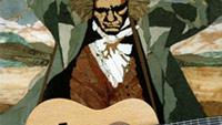 6) 기타(guitar)<BR><BR>줄(絃)을 손가락으로 뜯어 소리를 내는 대표적인 발현악기(撥絃樂器)이다. 기타(guitar)가 악기로서 쓰이게 된 기원은 BC 3700년 경으로 본다. 이 시대의 이집트왕묘의 벽화에 기타를 닮은 발현악기의 그림이 새겨져 있는 것에 그 근거를 둔다. 그뒤 중근동(中近東) 각지에서 여러 가지 이름으로 불리면서 오랫동안 이어져 왔다. 1500년경부터 기타는 중부 유럽의 류트, 에스파냐의 비올라와 함께 당시의 중요한 악기였다. 16~17세기에 걸쳐서 기타는 류트나 비올라의 쇠퇴에도 불구하고 성행하였으나, 바흐 등에 의해 피아노, 바이올린을 주축으로 하는 오케스트라가 확립되면서 점차 쇠퇴하기 시작하였다. 18세기 후반에 이르러 에스파냐의 소르 아과드, 이탈리아의 줄리아니 등에 의하여 제2의 황금기를 맞게 되나, 19세기 바그너, 베를리오즈 등의 대규모적인 음악에 압도되어 다시 쇠퇴하였다. <BR><BR>여섯줄의 기타가 만들어진 것은 18C 후반이다. 이 시대는 기타의 황금기라고 할 만큼 많은 기타리스트들이 나왔다. 그 중 특히 F.소르(Fernando Sor, 1778~ 1839, 西)는 많은 명작을 남김으로써, 「기타의 베에토벤」으로 불리운다. <BR><BR>현대 기타음악의 개척자라 불리우는 타레가(Francisco Tarrega Eixea, 1852~&nbsp;&nbsp;1909, 西)는 기타에 새로운 음색을 부여하는 기교를 창안함과 동시에, 대음악가들의 작품과 자국의 음악가 알베니스((Isaac Manuel Francisco Albeniz, 1860~ 1909, 西), 그라나도스(Granados, Enrique, 1867~1916, 西) 등의 민속적 음악까지도 기타에 옮겨 담아 근대적 기타의 기술과 내용을 확립하였고 현대에 기타가 하나의 연주악기로서의 위치까지 나아가는데 기반을 형성하였다. 그는 여러 다른 각도에서 주법과 소리를 연구하여 기타가 지닌 많은 가능성을 캐내었다. 그에 의하여 기타는 멜로디와 화음을 보다 입체적으로 구사하는 한편, 보다 색감있는 표현도 가능하게 되었을 뿐더러 왼손의 운지법과 오른손의 탄현법에 개혁을 이룩하였다. 그의 「알함브라궁전의 추억」, 「카프리초 아라베(Capricho ara<BR>-be)」, 「단자 모라(Danza mora)」는 귀중한 기타의 명곡들이다. 타레가는 단지 작곡에 그치지 않고 많은 다른 악기를 위한 곡들을 기타 연주용으로 편곡하여 기타 레퍼터리의 영역을 넓혔다. 그 외에도 나폴레온 코스트, 요한 카스파르, 안토니오 카노 등의 노력으로 기타 음악은 하나의 예술로서 지위를 가지게 되었다.<BR><BR>세고비아(Andre Segovia, 1893~1987, 西)는 기타를 살롱에서 연주회장으로 옮겨와 전세계에 기타음악을 소개하였다. 그뒤 기타의 제작, 악보의 출판이 각국에 널리 퍼져 오늘날 많은 나라에서 기타연주가 행하여지고 일반 작곡가들도 기타곡을 쓰게 되어 세계적으로 널리 퍼지고 있다. 타레가를 현대 기타음악의 개척자라면 세고비아는 완성자라고 할 수 있다. 세고비아는 기타주법, 특히 오른손 주법에 일대 혁신을 일으켰고 차원높은 예술성이 담긴 연주로 고전음악을 소화해 기타의 가치를 널리 알렸다. 세고비아는 20C에 들어와 기타음악의 르네상스를 불러온 것으로 평가된다.<BR><BR>18세기 무렵까지의 기타는 프랑스의 프랑스와 라코트가 설계한 모양이 일반적이었으나, 그뒤 에스파냐의 안토니오 데 토레스가 연주회장에서도 쓸 수 있도록 음량의 증대를 꾀한 대형 기타의 설계에 성공하여 많은 명기(名器)를 냈으므로 그뒤부터는 토레스형이라는 오늘날의 크기가 되었다.<BR><BR>기타의 현(絃)은 여섯줄 구조이며 조현(調絃)은 낮은 음으로부터 E(미)&#8228;A(라)&#8228;D(레)&#8228;G(솔)&#8228;B(시)&#8228;E(미)로, 낮은쪽 네 줄은 완전4도 간격으로 콘트라베이스와 일치하며, 그 위에 B&#8228;E의 두 음이 추가된다. 추가된 두 줄 중 중 새로운 음은 B음 한 줄이며 최고음의 E음은 최저음의 E음과 2옥타브 간격으로 